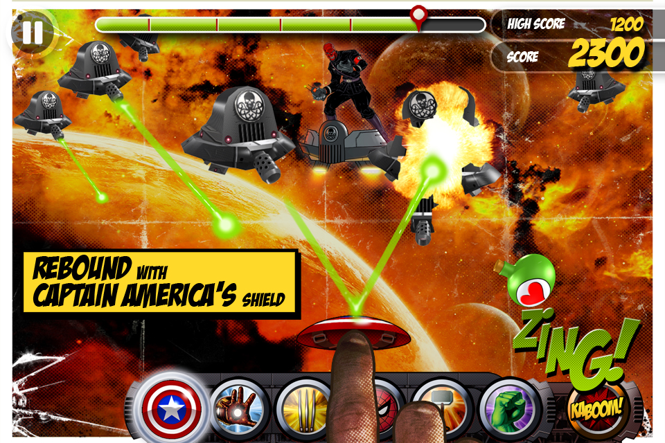 Screenshot Marvel KAPOW! Free