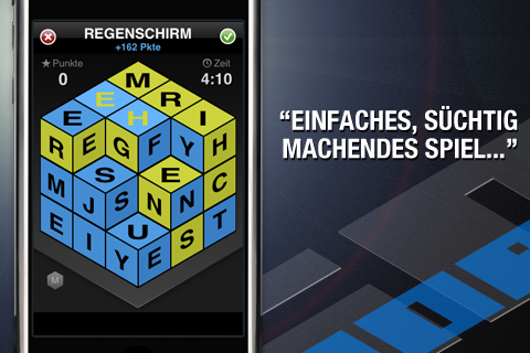 Screenshot IsoWords.de (German)